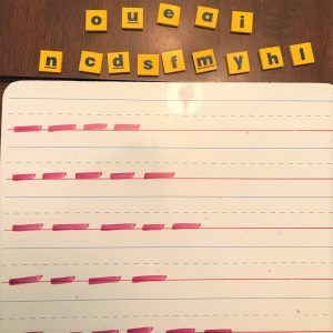 unscramble spelling words with letter tiles activity