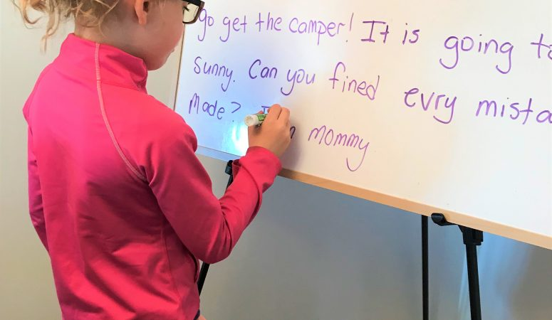 Spruce Up Your child's spelling practice at home.