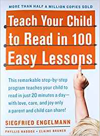 how to teach your child to read in a few minutes a day