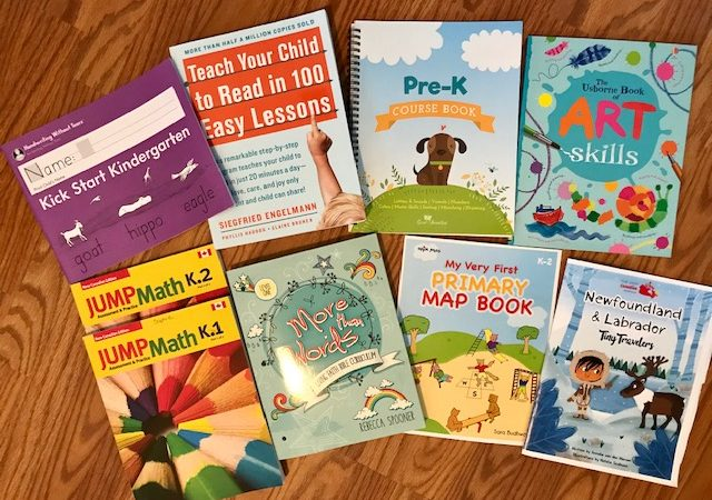 a glimpse at our kindergarten resources for this year